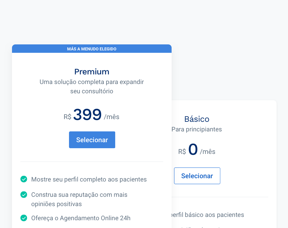 Doctoralia Academy Brasil - Planos e Preços