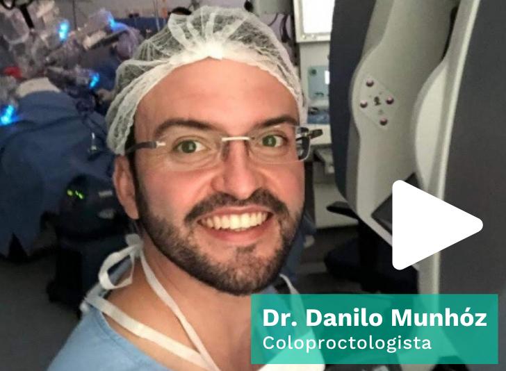 Dr Danilo Munhoz Coloproctologista