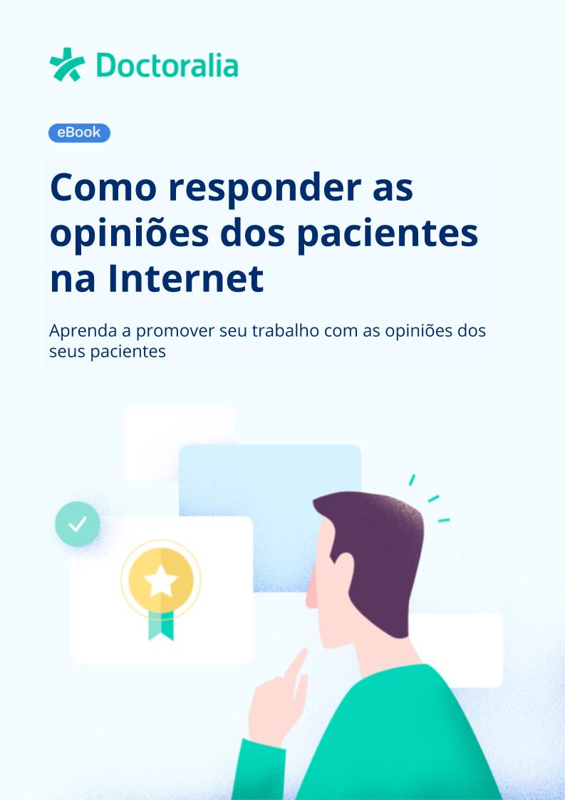 ebook - Opiniões de pacientes na internet