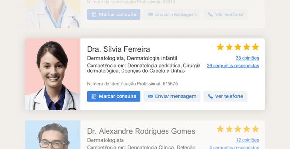 Identidade médica online