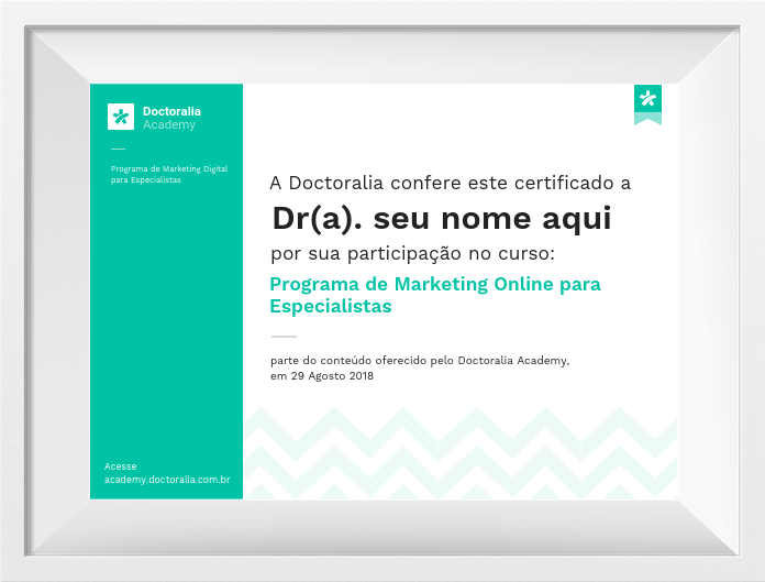 Certificado - Programa de Marketing Doctoralia