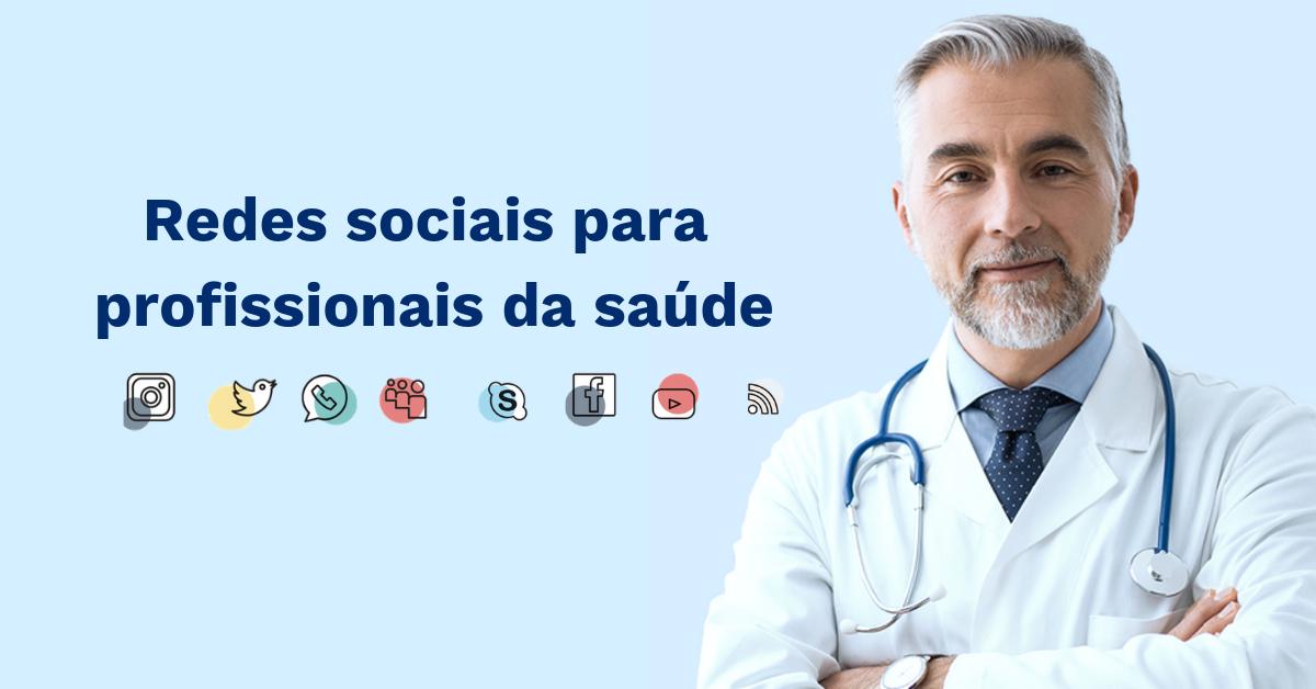 Redes sociais para profissionais da saúde
