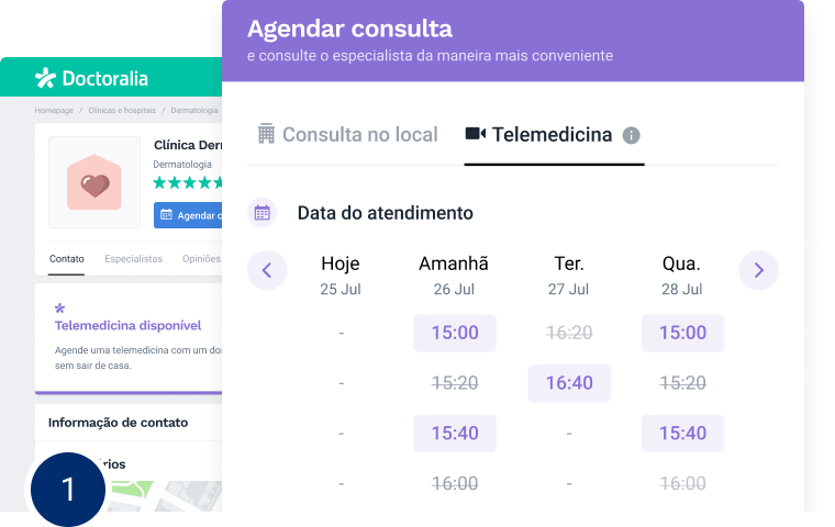 Telemedicina Doctoralia - software para profissionais e clínicas